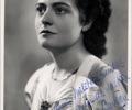 French pianist Colette Gaveau. November 2, 1938