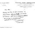 Letter N. Boulanger. June 17, 1965
