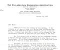 Letter E. Ormandy. October 18, 1955
