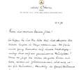 Letter W. Sawallisch. April 14, 1978