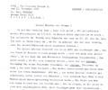 Letter C. Zecchi. November 13, 1965