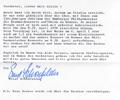 Letter E. Schönfelder (Philharmonisches Staatsorchester Hamburg). Sept. 23, 1976