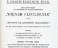 Mozartgemeinde Wien. May 1972